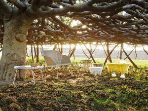 Outdoor Stuhl Textil (© Gandiablasco)