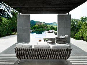 Outdoor Sofa Tosca (© Tribù)