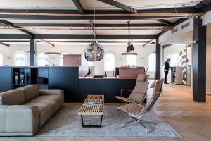 Lounge und Empfangsbereich