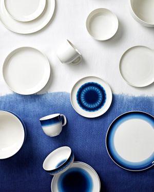 Geschirr Inblue von Rörstrand - Design Monica Förster (© Rörstrand)