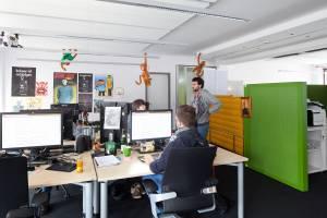 Büro (© Daniel Sumesgutner)