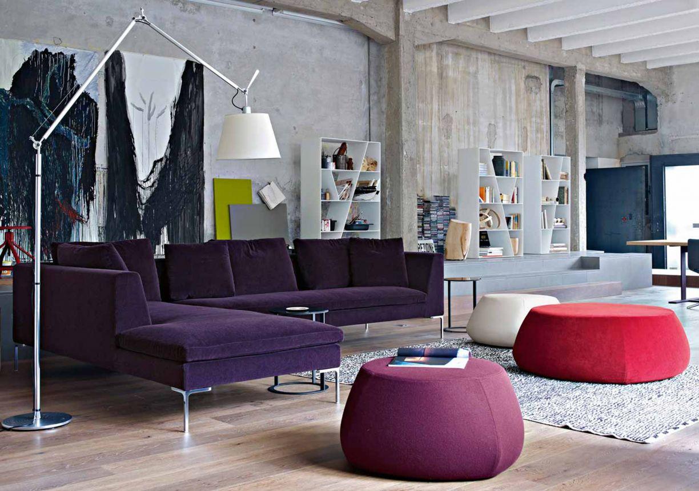 Sofa Charles Design: Antonio Citterio (© Bu0026B Italia)