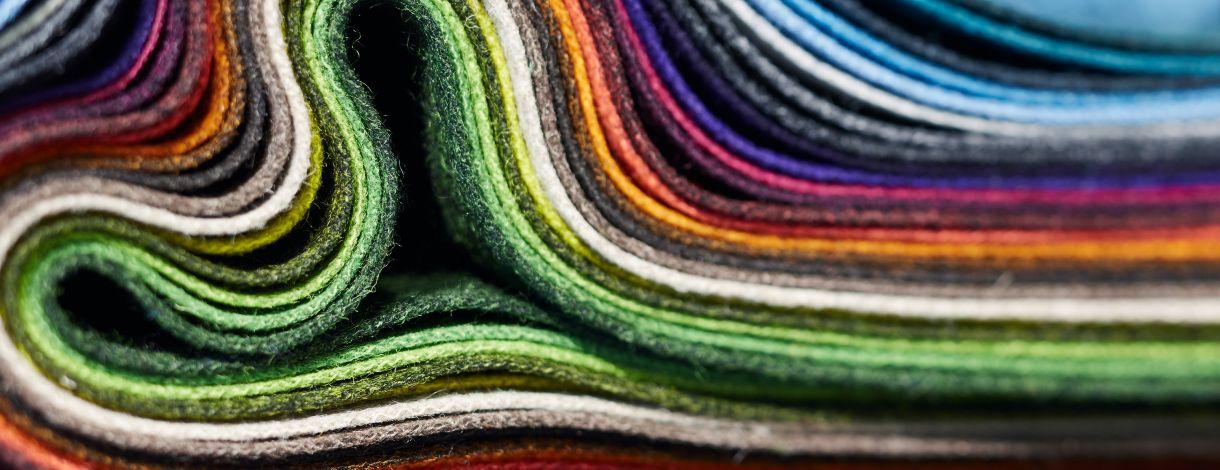 Produktauswahl, Farbe und Material