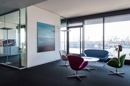 Sofa und Sessel Schwan von Fritz Hansen