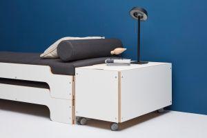 Bettkasten zur Stapelliege (© Müller Möbelwerkstätten)