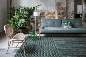 Teppich Blur Green (© Nanimarquina)
