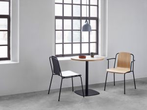 Form Table, Studio Chair, Bell Lamp (© Normann Copenhagen)