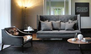 Sofa und Sessel Grantorino HB (© Poltrona Frau)