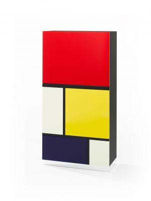 Mondrian-Schrank (© Röthlisberger)