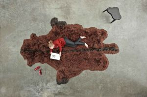 Roadkill Bison (© Carpet Sign)