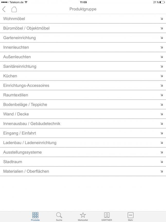 Einrichtungs App die neue gärtner app gärtner internationale möbel