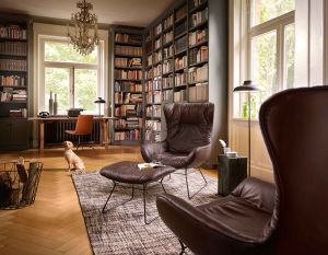 Leya Wingback Chair (© Freifrau)