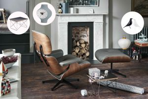 Lounge Chair & Geschenke (© vitra)