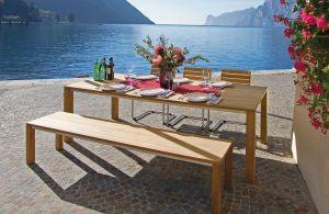 Tisch und Bank Solid 2 (© Weishäupl Möbelwerkstätten)