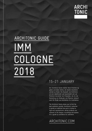 Architonic Guide imm 2018