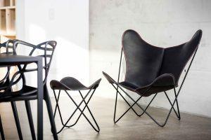 """Der """"Hardoy Butterfly Chair"""" wird 80"""