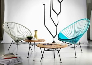 Acapulco Chair & Bam Bam Table (© OK Design)