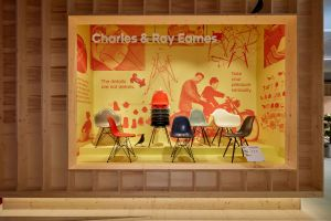 "Die Rückkehr des ""Eames Fiberglass Chair"""