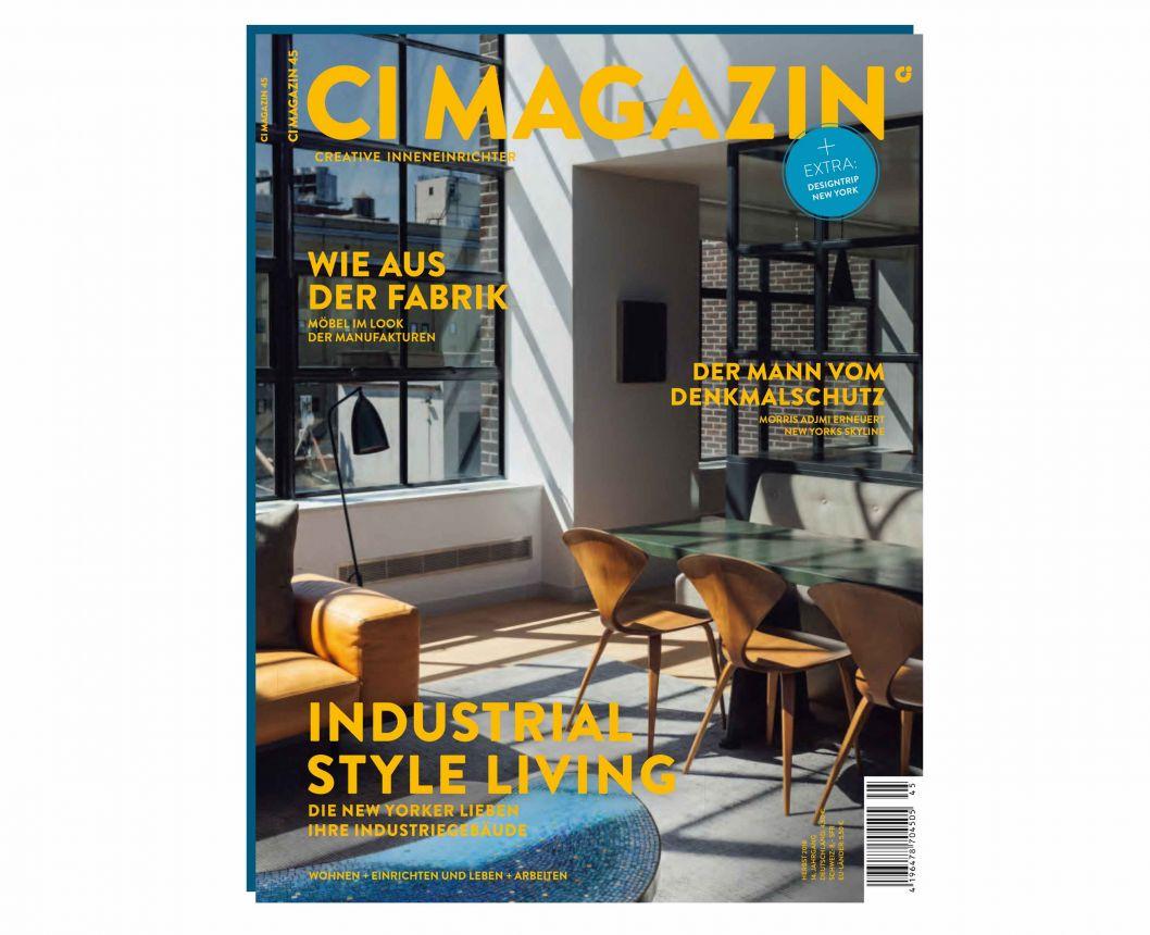 Das neue CI Magazin Nr. 45 ist da / Gärtner Internationale Möbel