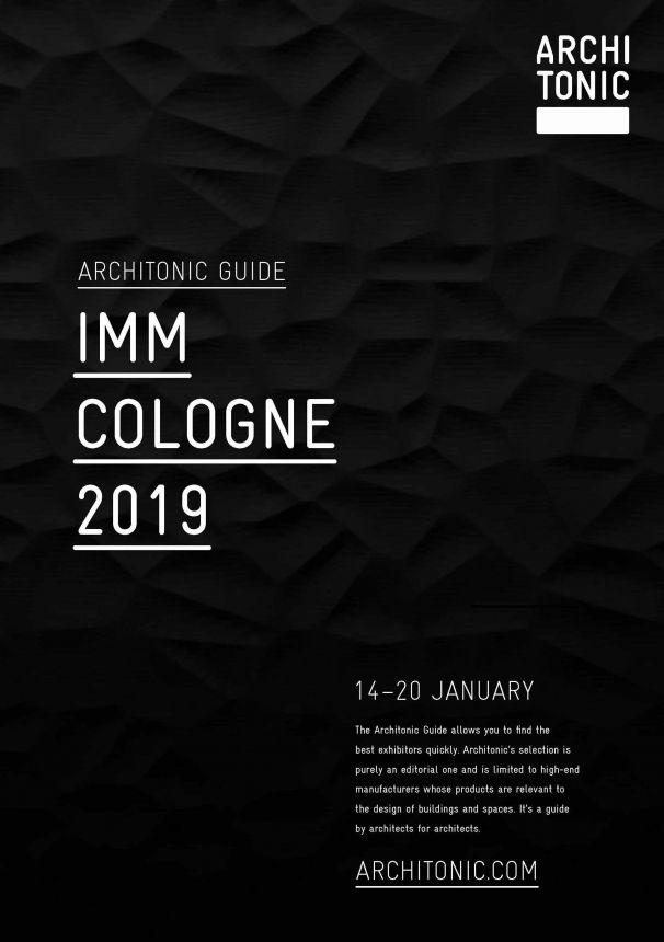 Architonic Guide imm 2019