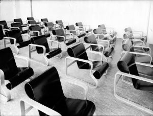 Der Paimio im Sanatorium (Archiv Artek) (© Artek)