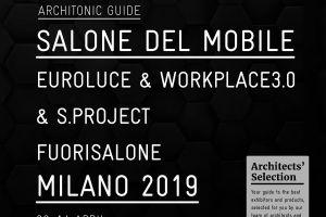 Architonic Guide Salone Del Mobile Milano 2019