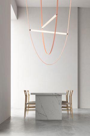 Leuchte Wireline von Formafantasma (© Flos)