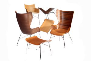 Wood Collection von Philippe Starck (© Kartell)