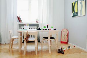 Kinderstuhl N65, Aalto Tisch (© Artek)