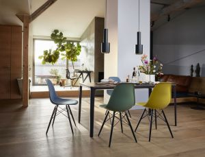 Eames Plastic Side Chairs (© Vitra)