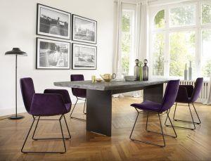 Stuhl Amelie, Tisch Monolit (© Janua/Freifrau)