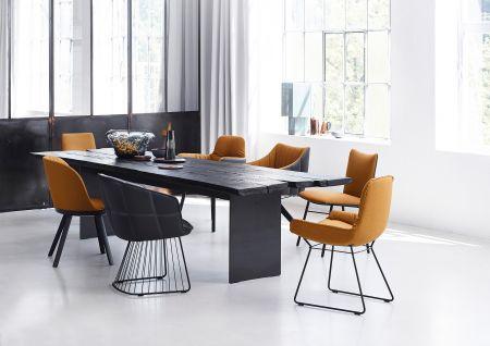 Tisch Butterfly, Stühle Leya und Marla (© Janua/Freifrau)