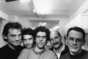 Mitglieder der Gruppe Pentagon 1989 (© Wolfgang Burat)