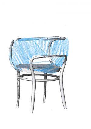 Stuhl 520 von Marco Dessí für Thonet (© Thonet)