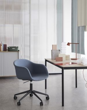 Fiber Armchair, Base Table (© Muuto)